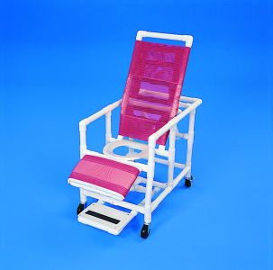 PVC 5-Position Reclining Shower Chair
